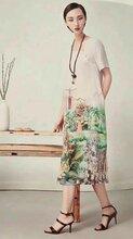 杭州古典中国风设计师品牌水墨生香女装夏一手货源打包走份
