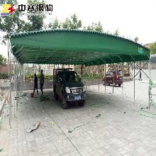 涪陵停车棚厂家移动帐篷批发户外折叠停车棚图片
