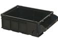 B型无盖周转箱展开式取货口_青岛若贤专业的周转箱生产厂家