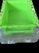 青岛若贤生产D型物流箱带盖无盖质量可靠价格适中