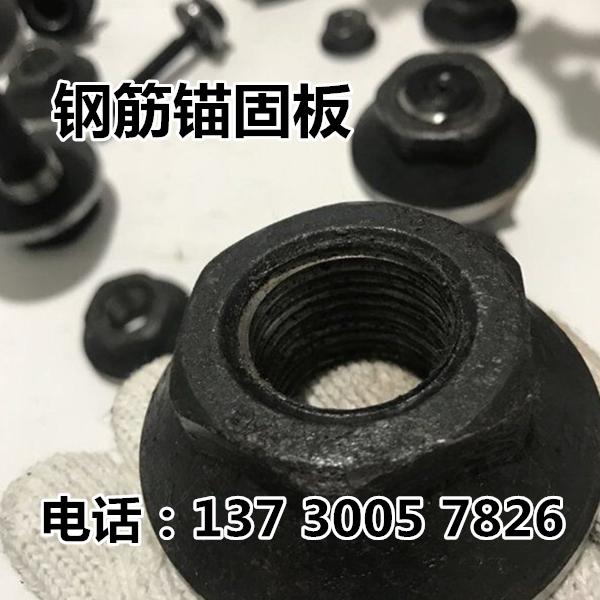 錨固板生產M12-M40/鋼筋錨固板代替傳統彎筋