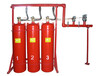 西安消防灭火设备、七氟丙烷自动灭火装置(悬挂式、柜式、有管网、无管网)