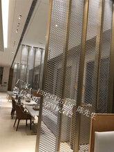 铝合金拉网板天花吊顶铝网板金属装饰网板厂家直销图片