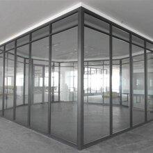 东莞中空百叶窗隔断,东莞活动屏风隔断,东莞双层玻璃隔断工厂图片