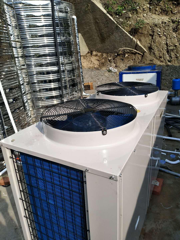 湾田国际商用热泵热水器安装,格美空气能热水器特价批发