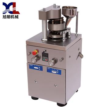 旋转式压片机的结构及其原理介绍小型压片机