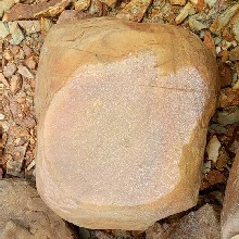 广州平面石批发价格黄色假山石庭院石桌石凳批发基地公园踏步石价格图片