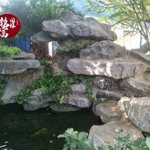 广州石场批发太湖石-驳岸园林观赏造景石-花园鱼池假山制作工程石