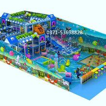 室内游乐场设备淘气堡商场淘气堡超市淘气堡儿童游乐场设备厂家直销图片