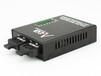 AOA品牌百兆2光3电单模单纤双纤光纤交换机光纤收发器