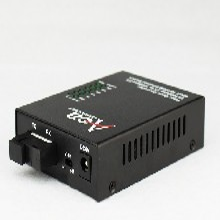 10/100M百兆1光4电光纤交换机单模单纤双纤图片