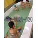 河南郑州厂家供应拼接滑梯池婴儿游泳馆必备