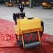 火爆热卖的浩鸿小型压路机小型单轮振动碾手扶式小型压土机回填土压实机