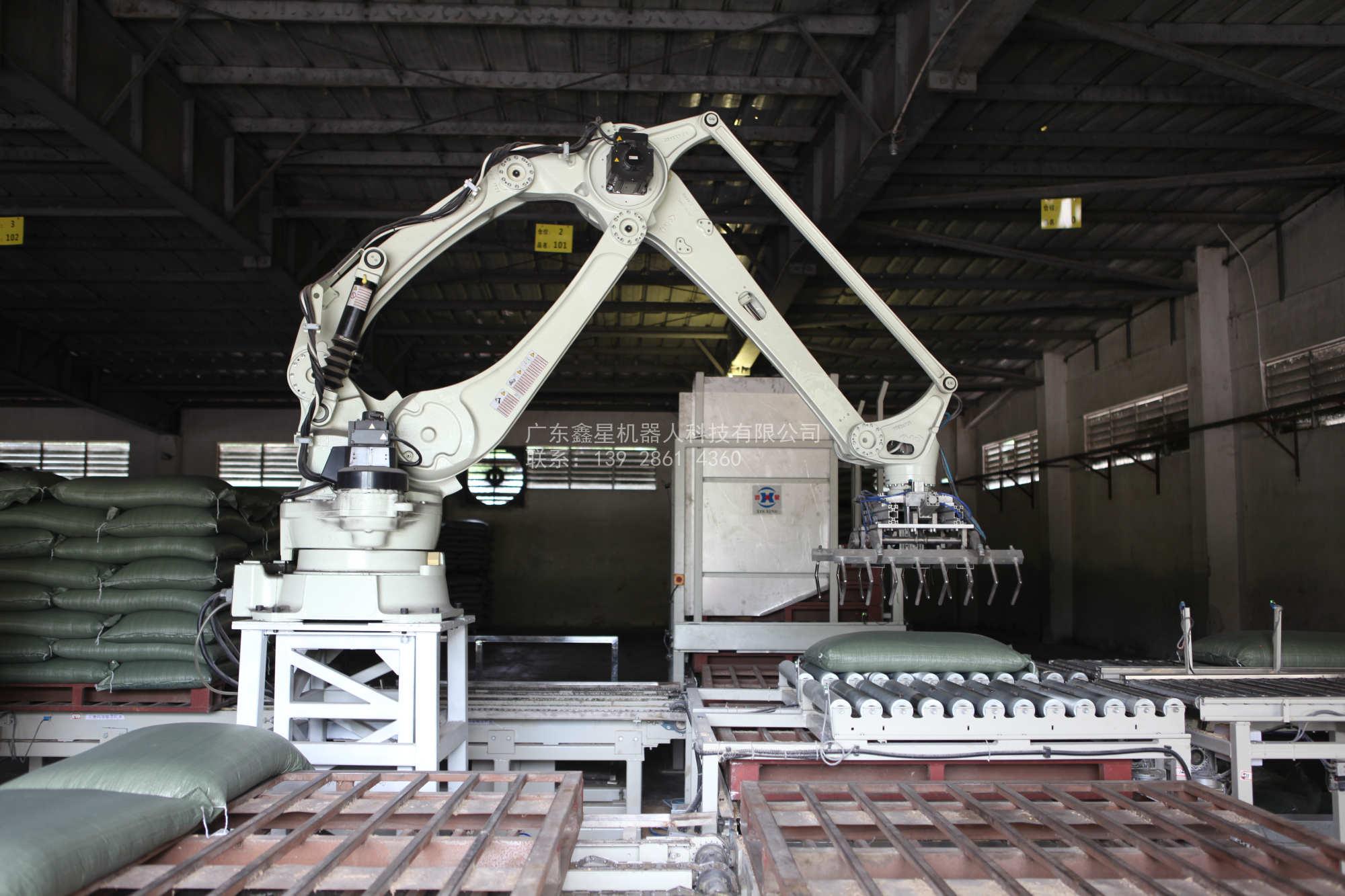 日本川崎机器人cp130l码垛机器人机械手全自动化生产线设备