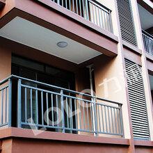 家装阳台护栏栏杆材料选择图片