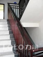 衢州樓梯扶手廠鋁合金樓梯欄桿樓梯扶手圖片