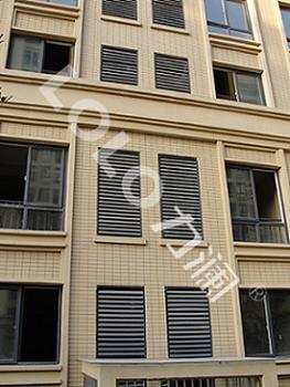 铝合金百叶窗装饰百叶窗,锌钢百叶窗,空调百叶窗,-明星百叶窗厂