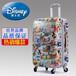 正品迪士尼拉杆箱米奇儿童行李箱学生米妮旅行箱包卡通登机箱