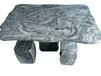 高山石刻石桌