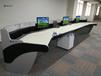 专业生产喀什公安局指挥大厅调度桌控制台接警台操控台
