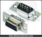 供应富上VGA9PIN焊线母头D-SUB连接器9PIN焊线母头价格