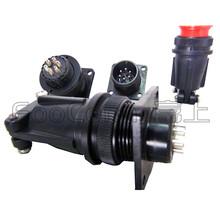 MS5015系列14S航空插头圆形连接器电连接器防水插头价格图片