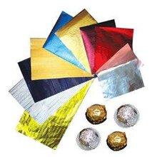 生产加工新型环保铝箔包装材料巧克力箔糖果包装箔图片