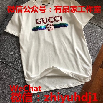 供应古驰Gucci夏季T恤代工厂货源批发价格诚招实力微商淘宝代理