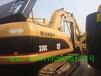 云南红河二手卡特330C挖掘机价格市场
