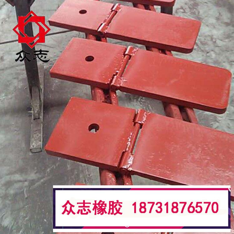 地铁盾构洞门用帘布橡胶板使用说明以及安装折页翻板圆环板