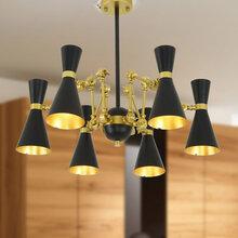 供应后现代个性创意喇叭吊灯一件代发现代吊灯