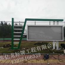 威海社区宣传栏、灯箱、标牌等生产厂家