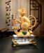 金猴摆件,生肖纪念品,精美礼品厂家,广元金属纪念品