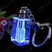 高檔水晶鑰匙扣,水晶紀念品,LED發光水晶禮品,深圳禮品