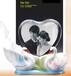 陶瓷天鹅摆件,定做七夕情人节礼品,特色情人节礼物,惠州礼品厂