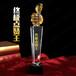终极点赞王水晶奖杯,黄色大拇指奖杯,徐州奖杯,合金奖杯