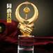 最佳合作伙伴奖杯,水晶奖杯,握手金属奖杯,南平奖杯厂家