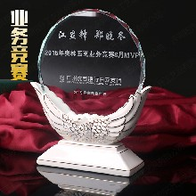 深圳陶瓷奖牌,汕头水晶奖杯,优秀企业家奖杯,奖杯定制