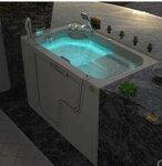 浴家居从步入式浴缸开始关爱老人生活起居