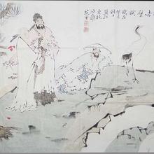 徐悲鸿字画北京正规拍卖公司北京保利成交记录图片