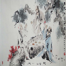 齐白石款群虾图权威鉴定拍卖北京嘉得四季成交价格图片
