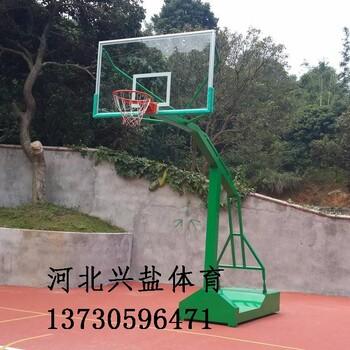 广场篮球架生产厂家直销