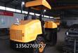 4吨柴油压路机胶轮振动压路机绵阳山路修建现场