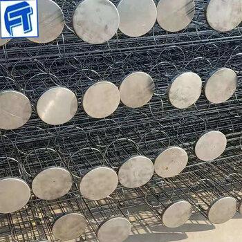 供应圆形袋笼镀锌喷塑除尘器袋笼有机硅除尘袋笼厂家