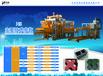 H浩海機械吉林遼源干式仿石磚設備免燒環保PC仿石磚磚機