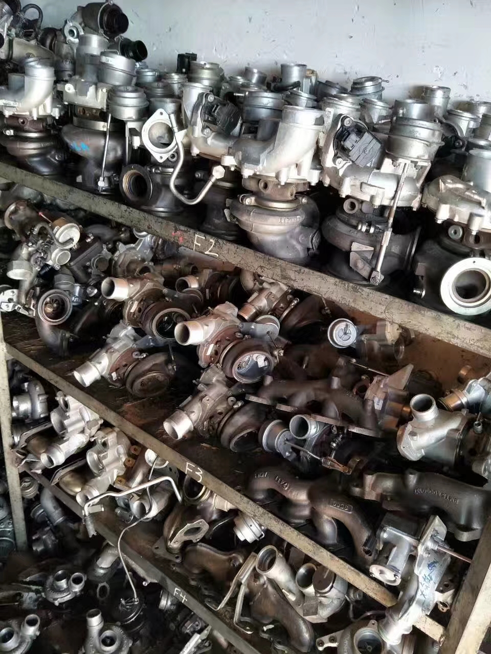 回收涡轮增压器回收下线试验涡轮增压器回收-上门回收-现金结算