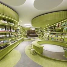 书店办公室装修的现代化设计的外观