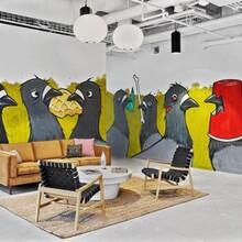 办公室装修中怎样注意色彩关系