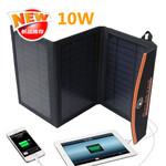 10W太阳能折叠充电包户外充电板移动电源太阳能充电板外贸爆款图片