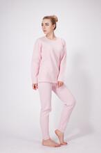 康加加石墨烯套服女式保暖内衣套装微商代理加盟
